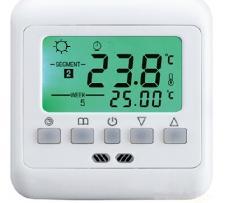 Inbouw klokthermostaat voor vloerverwarming AR05VD