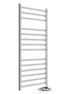 elektrische design radiator chroom