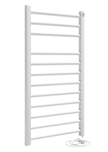 elektrische design radiator wit